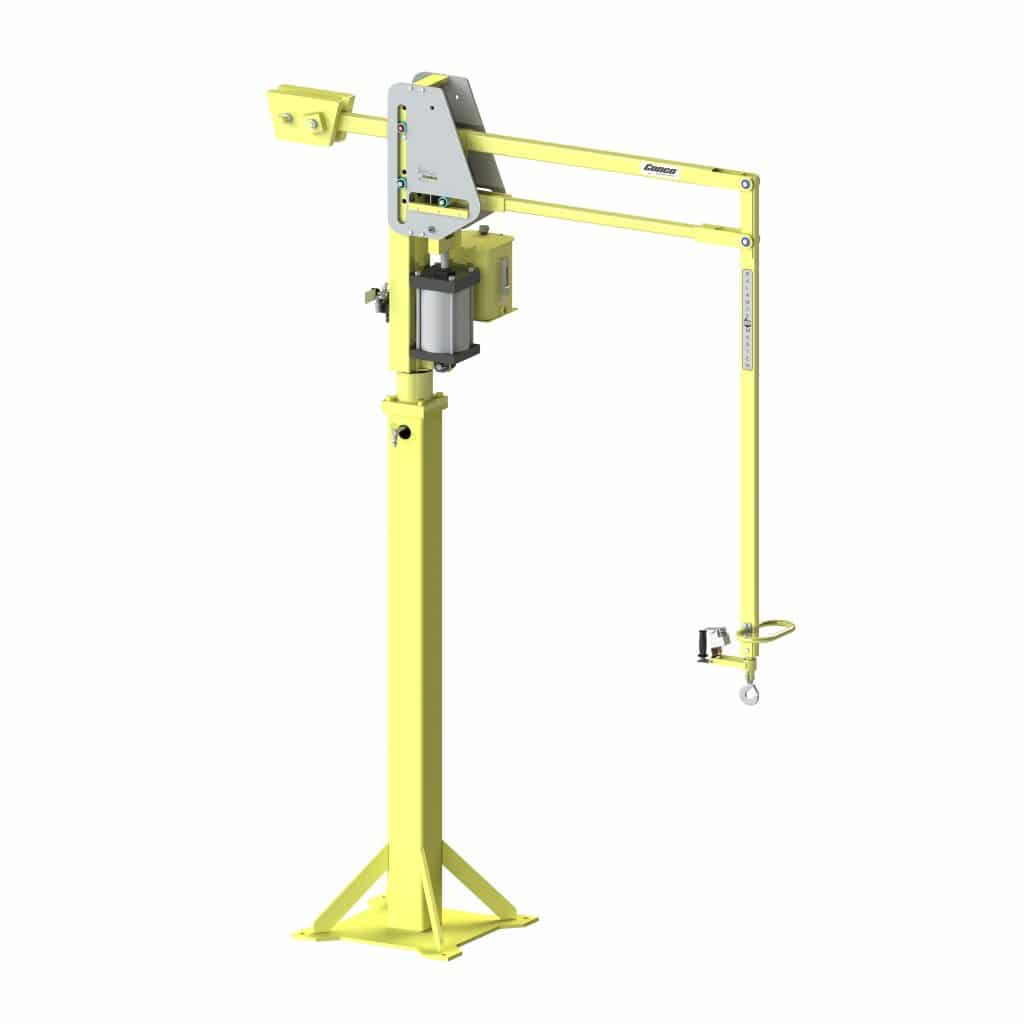 Lift Assist Articulating Arm : Articulated jibs jib arms hoists lifters conco