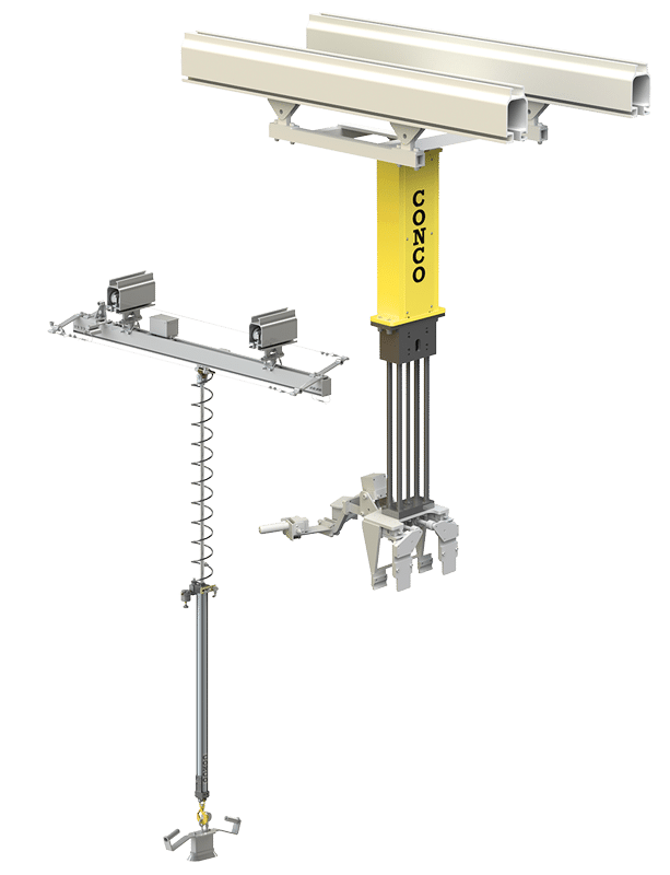 Lift Assist Articulating Arm : Articulated jib arms inline lifters and industrial
