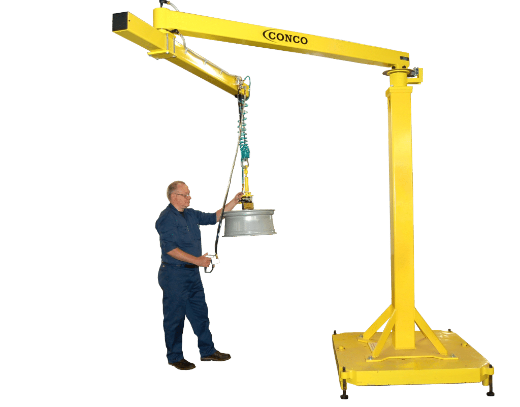 How Do You Make the Most of Your Material Handling Equipment | Conco jibs