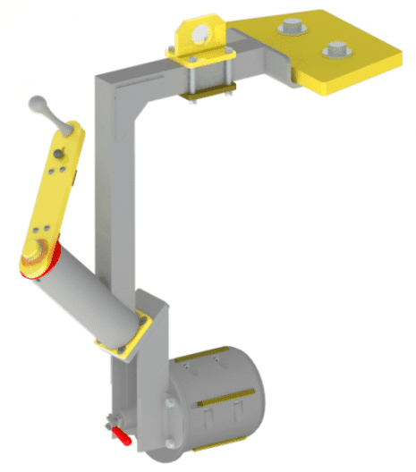 Articulated Jib Lifter with An Integrated Balancer | Lightweight Roll Turner