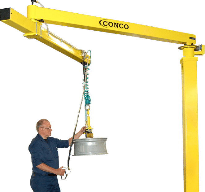 Why Does Warehouse Material Handling Matter | Conco Jibs