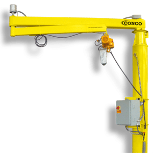 Best Practices for Effective Material Handling | Conco Jibs