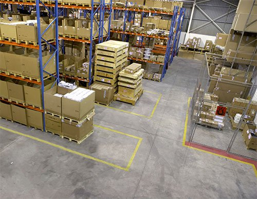 How to Keep Your Warehouse Productive | Conco Jibs